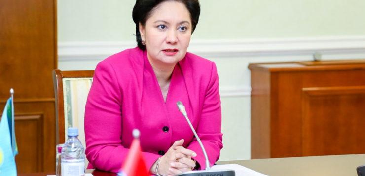Гульшара Абдыкаликова стала акимом Кызылординской области