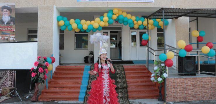 «Еңбек ері-Жаз ата» тақырыбында мерекелік кеш өтті
